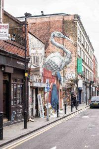 Hippes Viertel in London