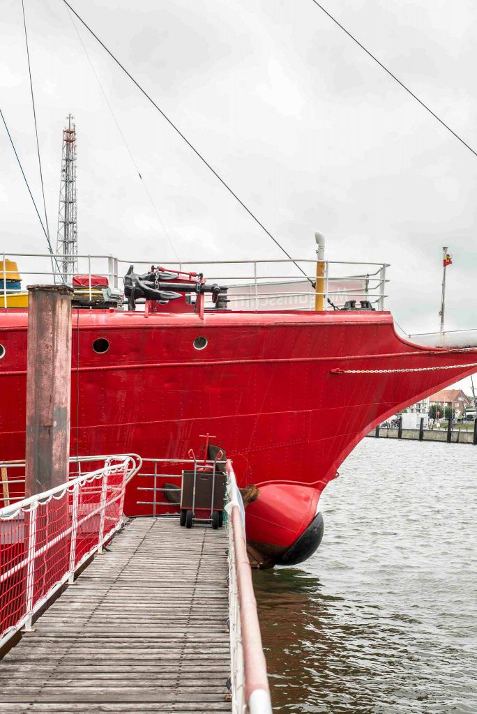 Feuerschiff Elbe1 in Cuxhaven