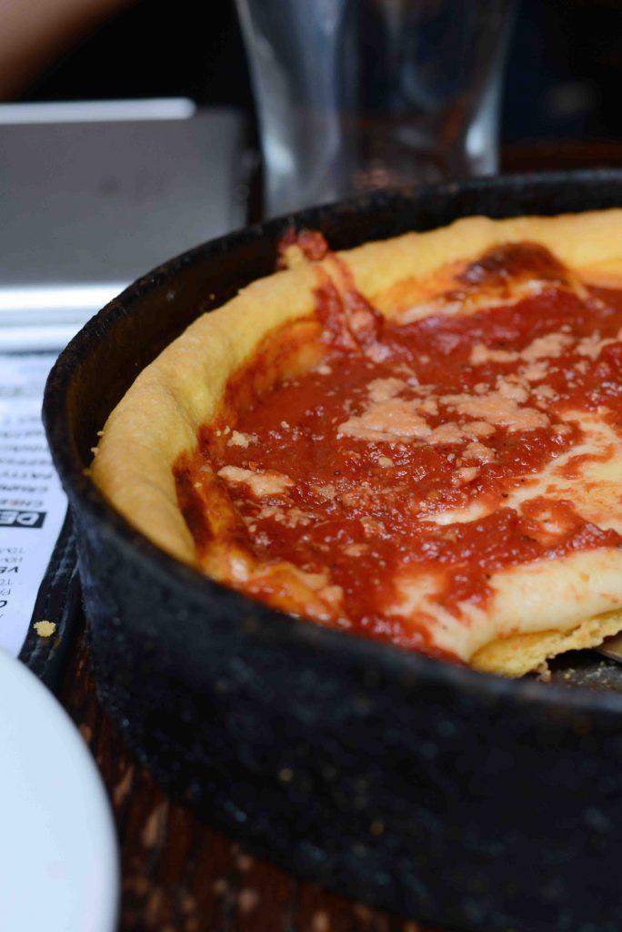 Die beste Deep Dish Pizza in Chicago
