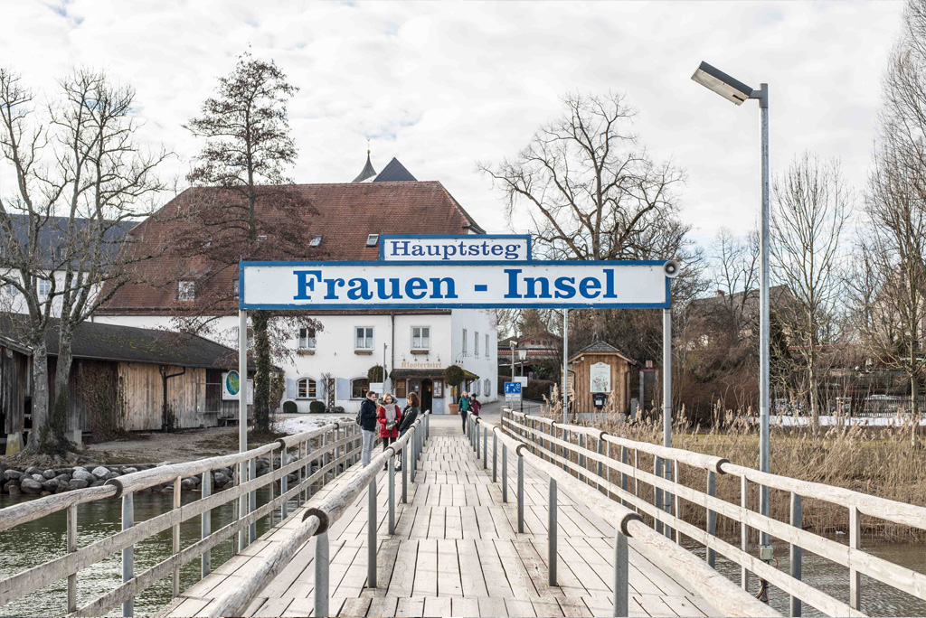 Anlegesteg der Fraueninsel