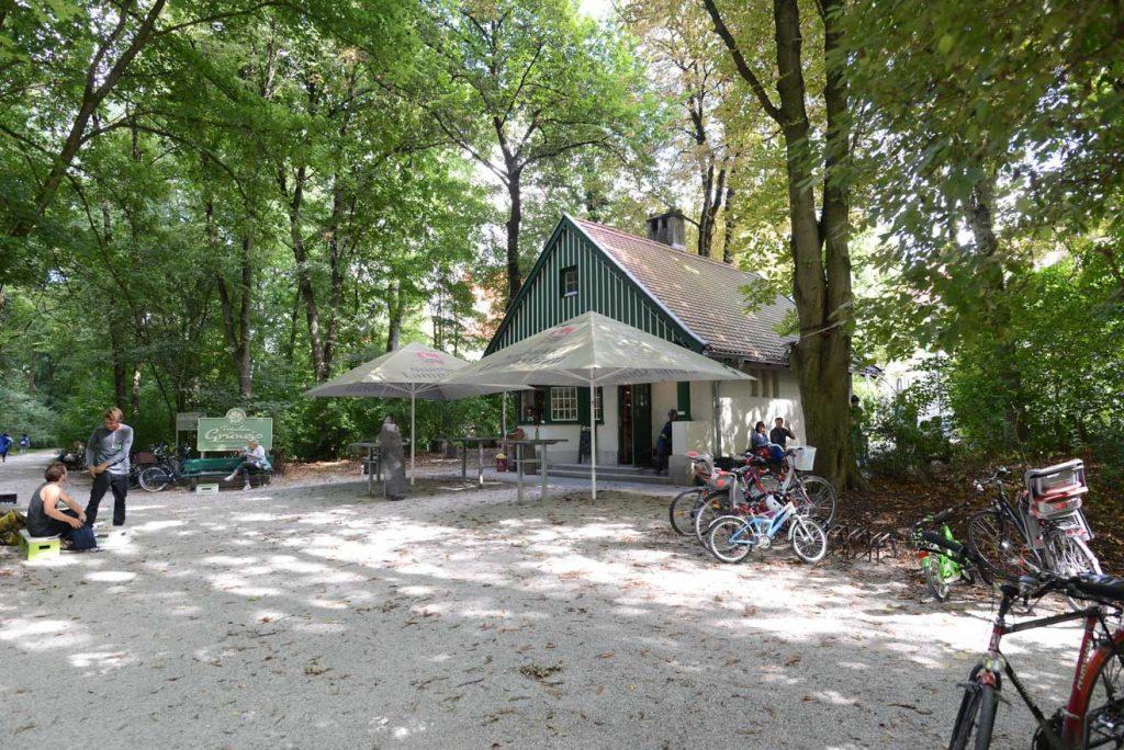 Das Café Fräulein Grüneis im Englischen Garten