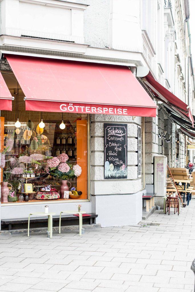 Cafés im Glockenbachviertel