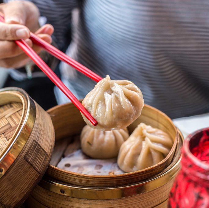 Chinesische Küche in der Drunken Dragon Bar im Glockenbach