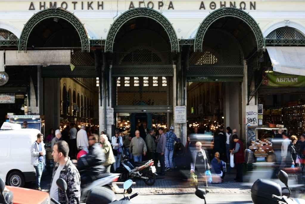 Markthalle in Athen