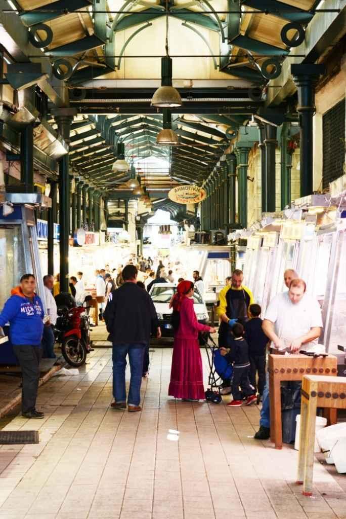 Markthalle von Athen