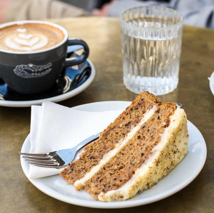 Kuchen essen im Glockenbach
