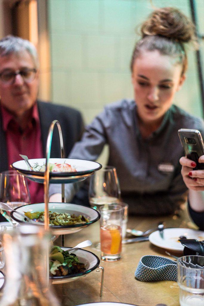 Restaurant Neni im 25hours Hotel in München