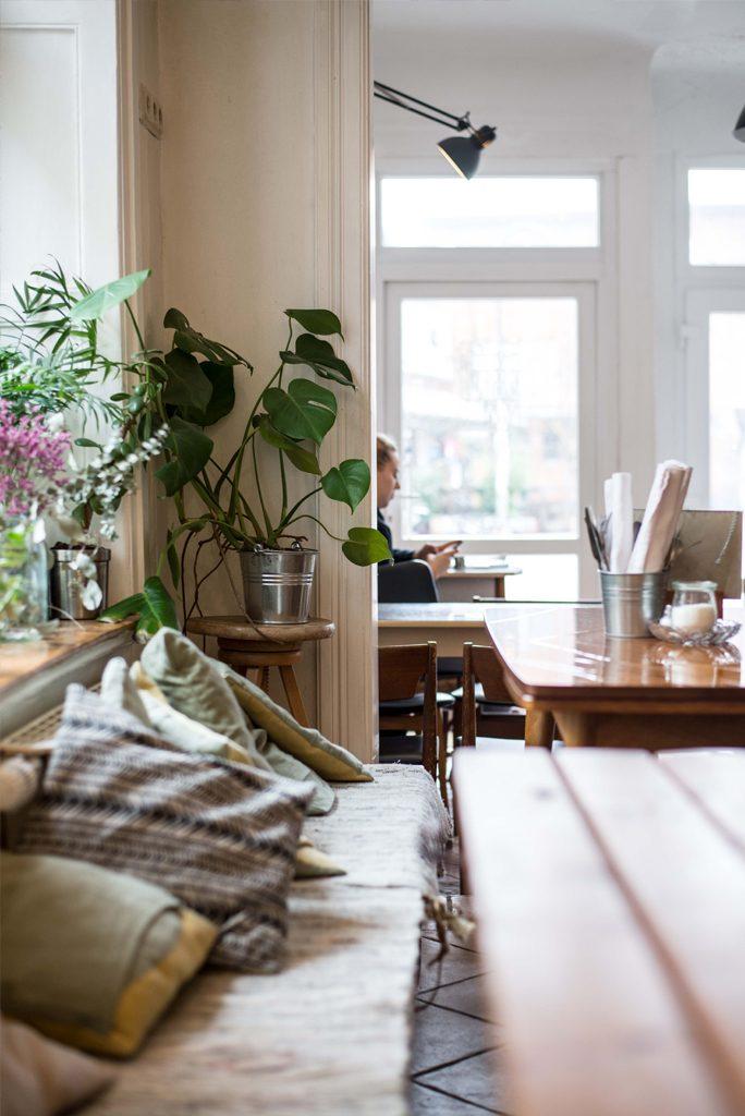 Das Zero-Waste Café in Hamburg serviert veganes und vegetarisches Frühstück