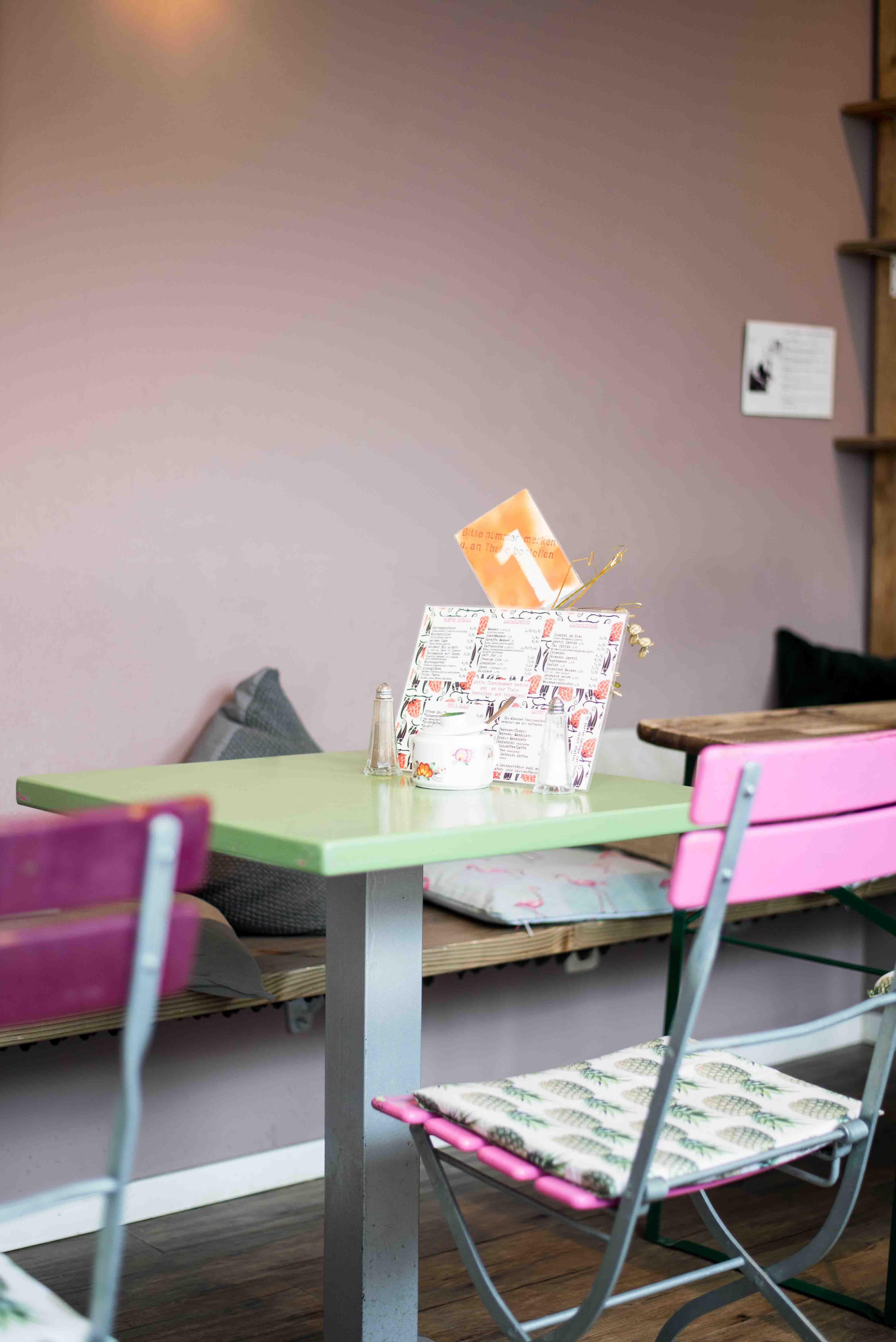 Das Café Gartensalon in München