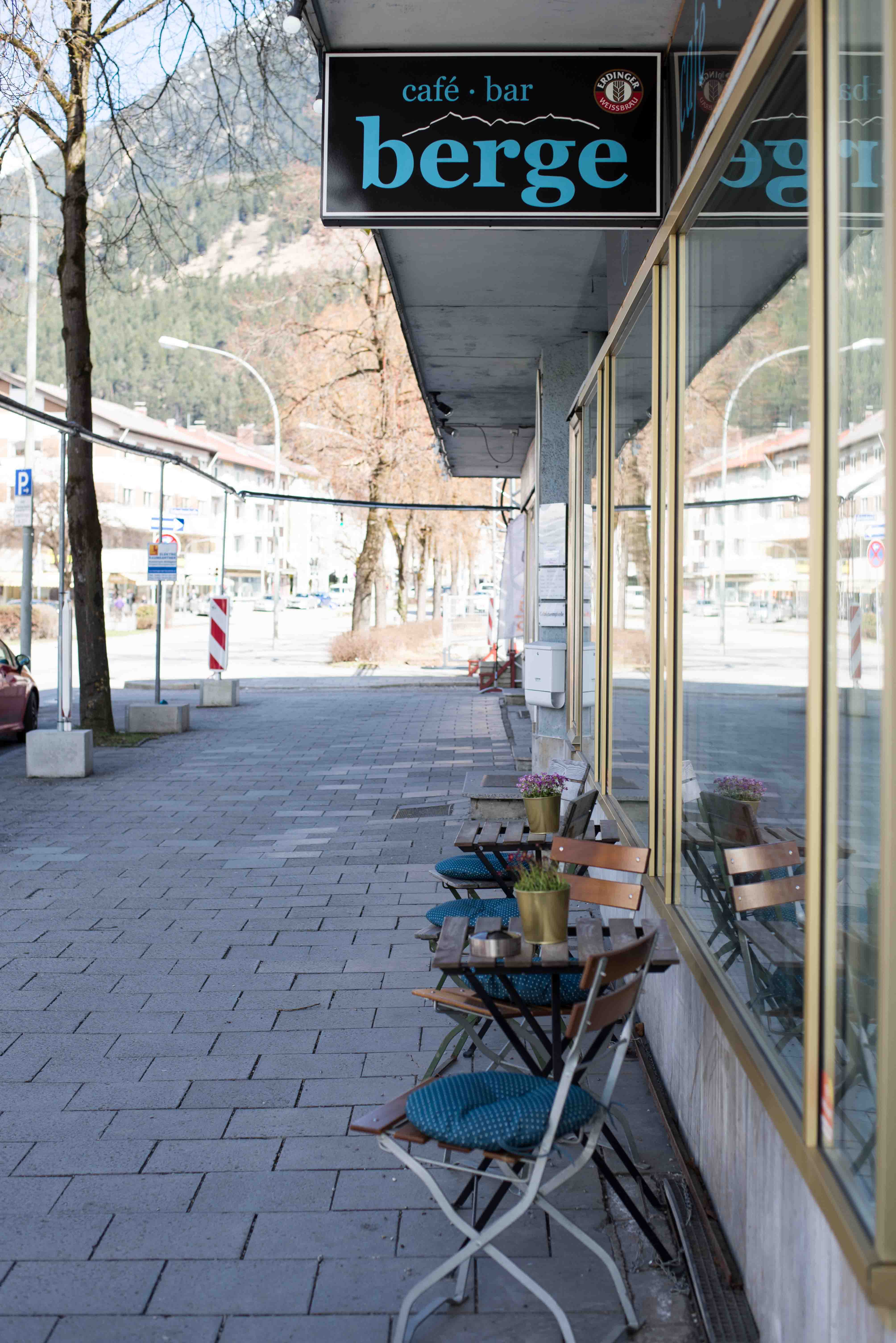 Café Berge in Garmisch-Partenkirchen