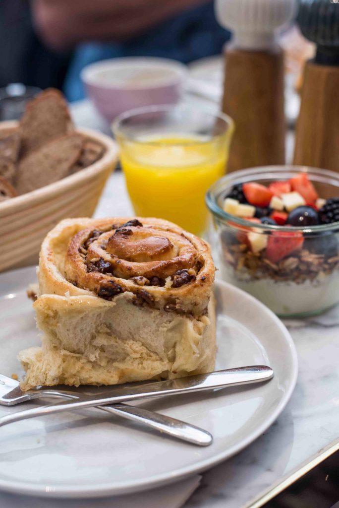 Frühstück bei Manufactum in Wien