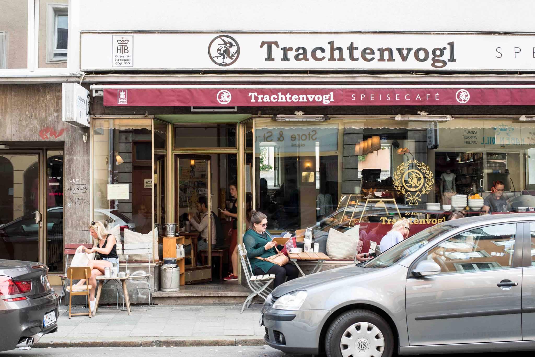 Cafés mit WLan in München