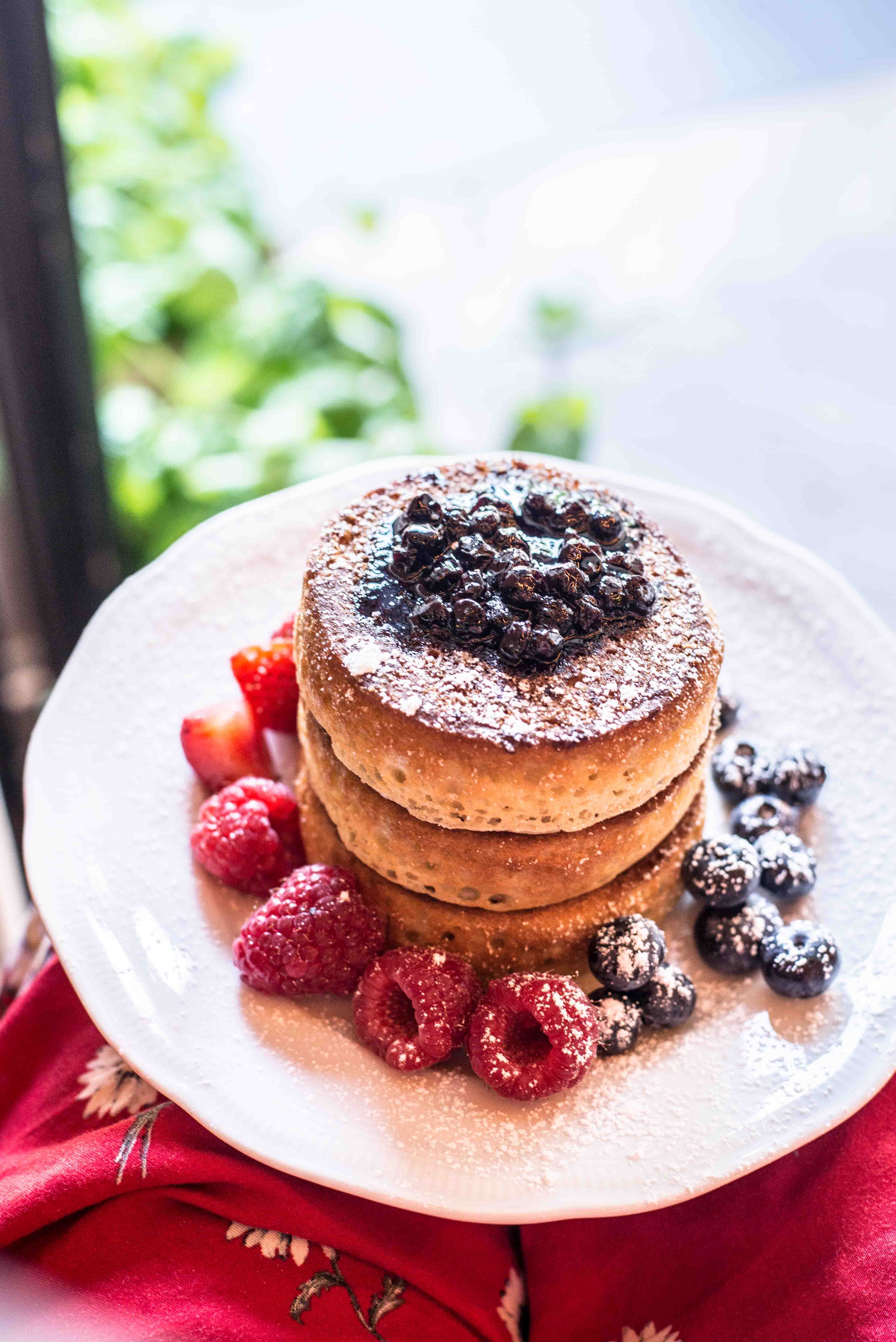 Pancakes im Benedict Berlin