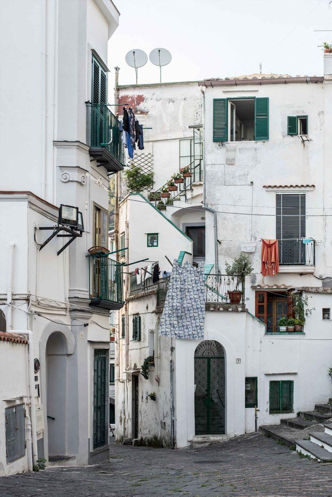 Vietri sul Mare an der Amalfiküste in Italien