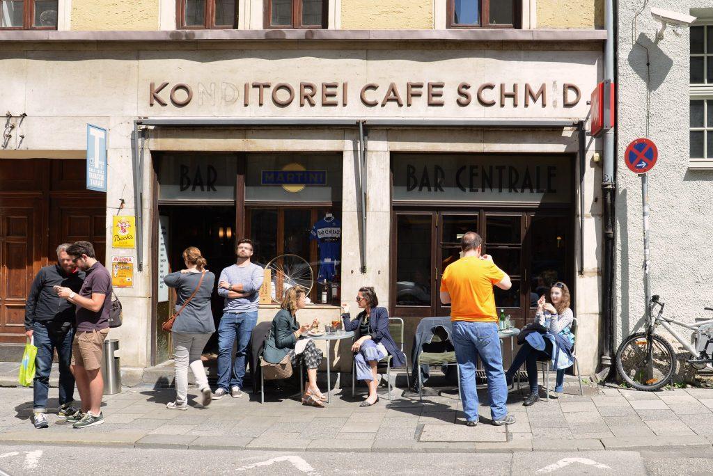 Bar Centrale in der Münchner Innenstadt