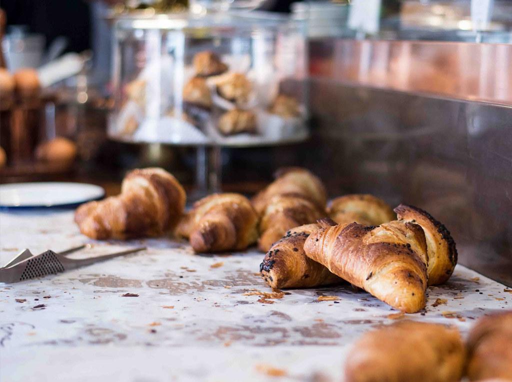 Cornetti im Café Morso in Schwabing