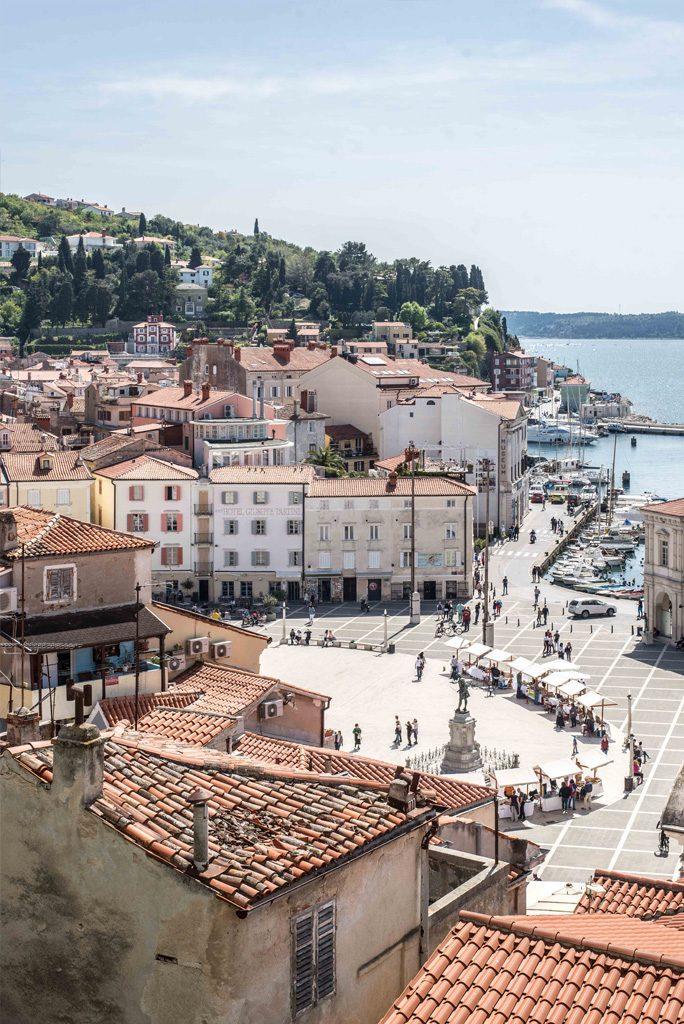 Schöne Ausflugsziele in der Nähe von Ljubljana – Piran am Mittelmeer