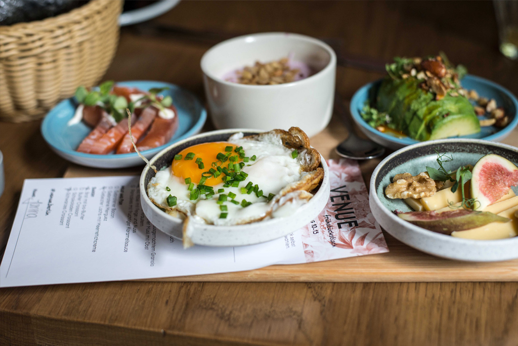 Frühstücktapas im Venue in Berlin