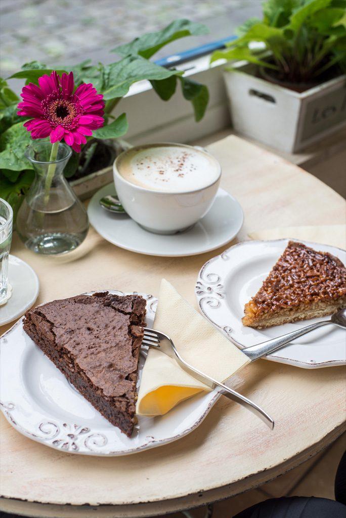 Schokoladencafé in der Düsseldorfer Altstadt
