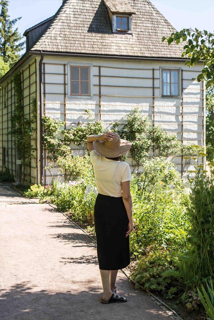 Goethes Gartenhaus im Park an der Ilm
