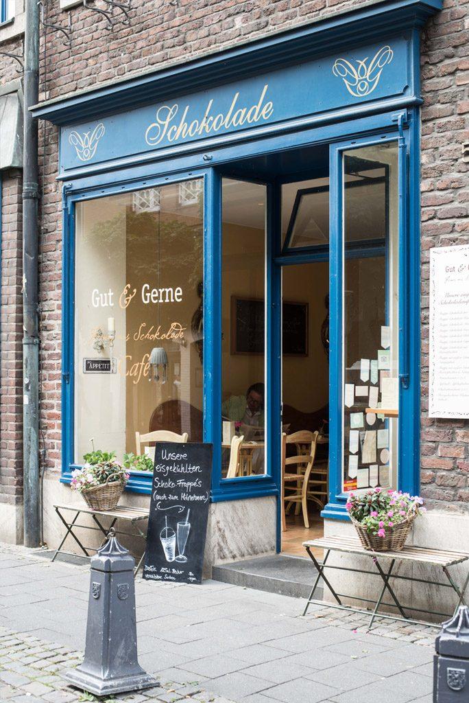 Schöne Cafés in Düsseldorf