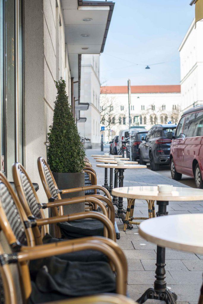 Kaffee trinken in München