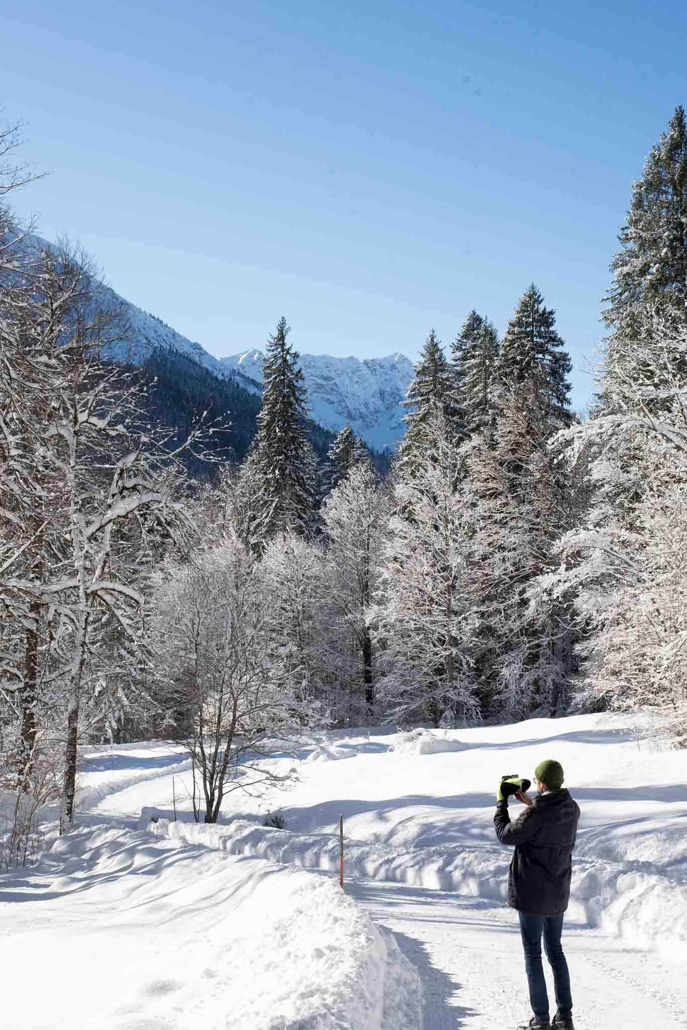 Winterausflüge in der Nähe von München