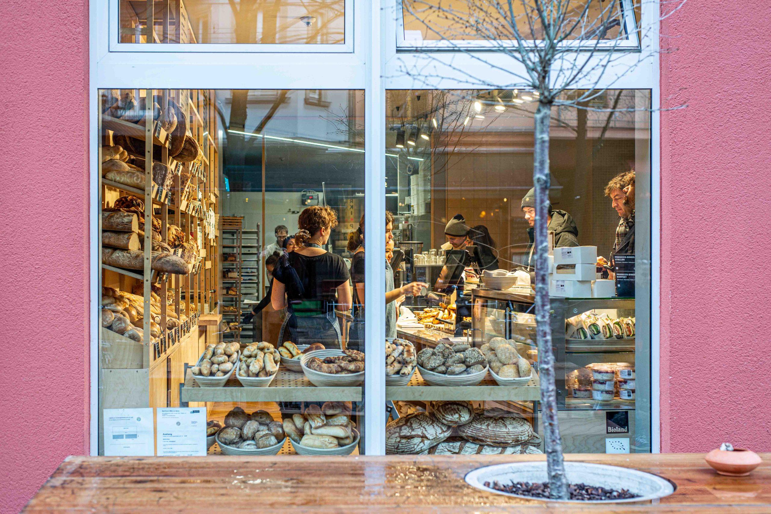 Frühstücken im Zeit für Brot in Berlin Mitte