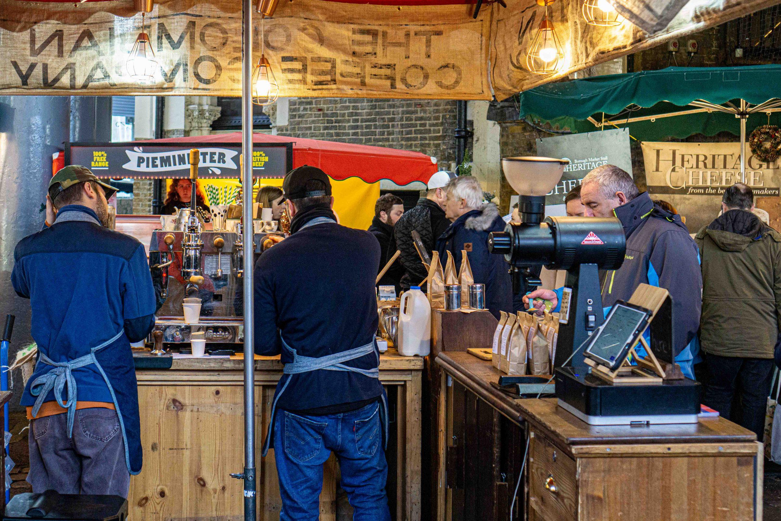 Das sind die besten Street Food Märkte in London