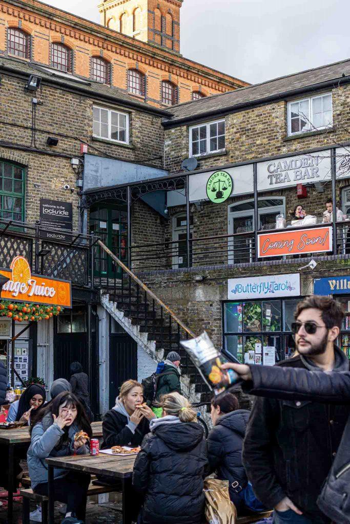 Street Food in Camden