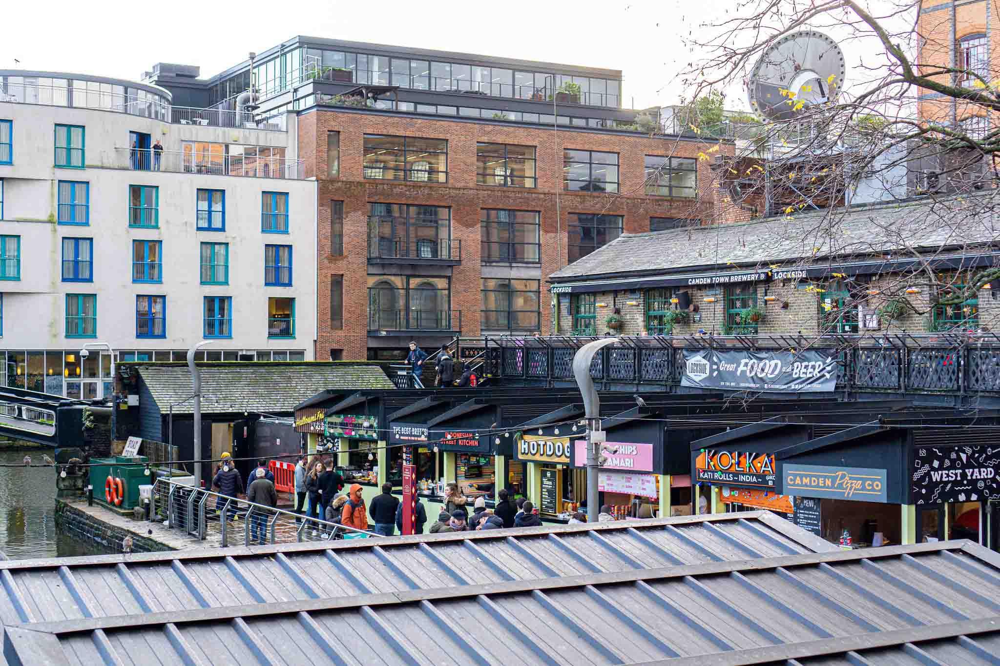 Street Food Market in London