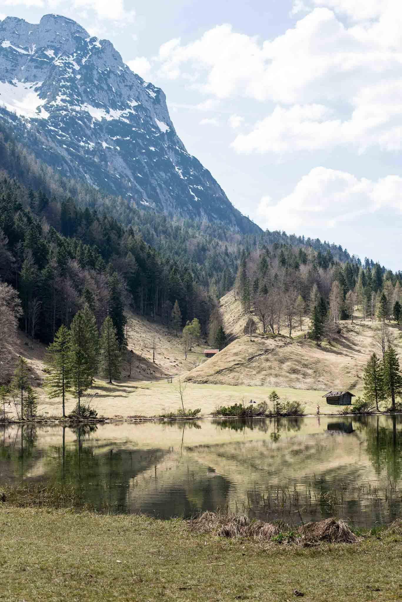 Leichte Wanderung in Mittenwald