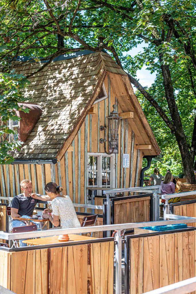 Café Gans Woanders in Giesing