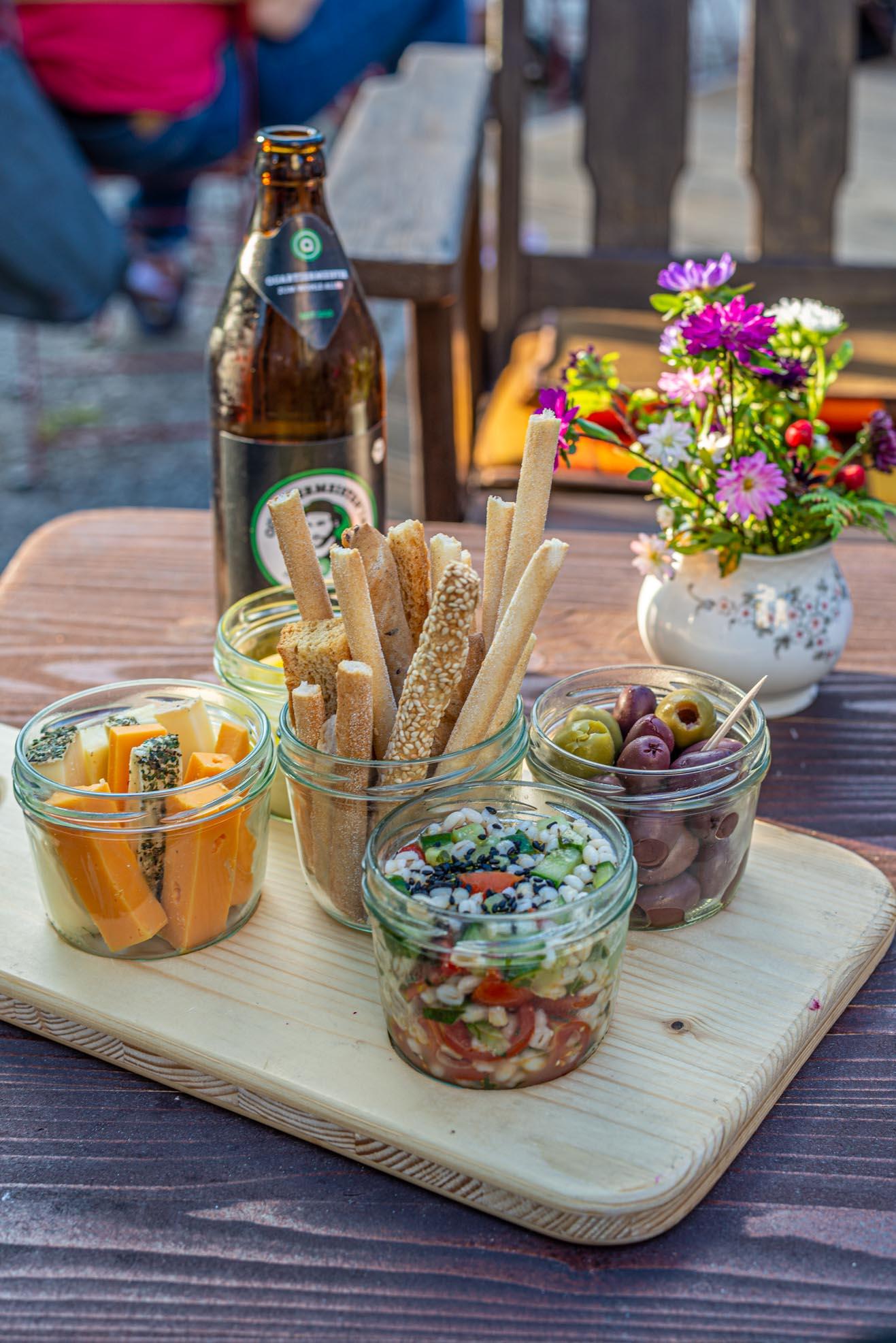 Das Café Steinchen in Laim
