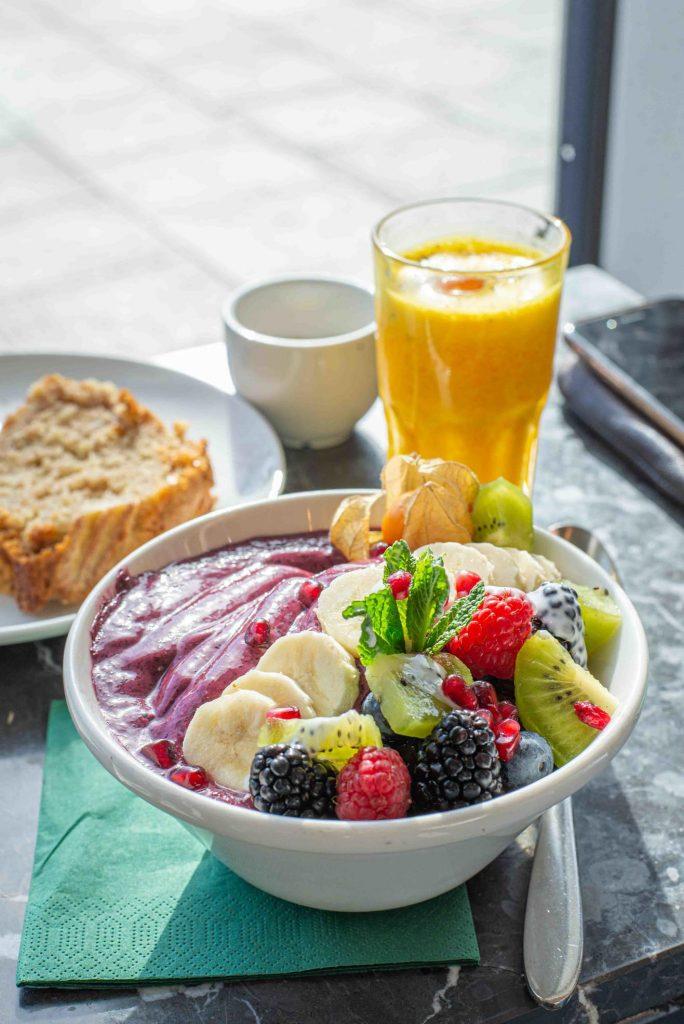 Gesundes Frühstück in der Wagners Juicery in München