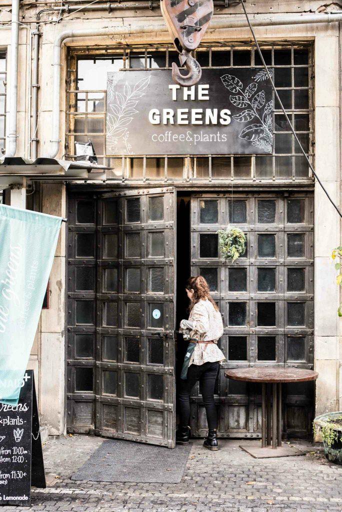 The Greens Café in Berlin