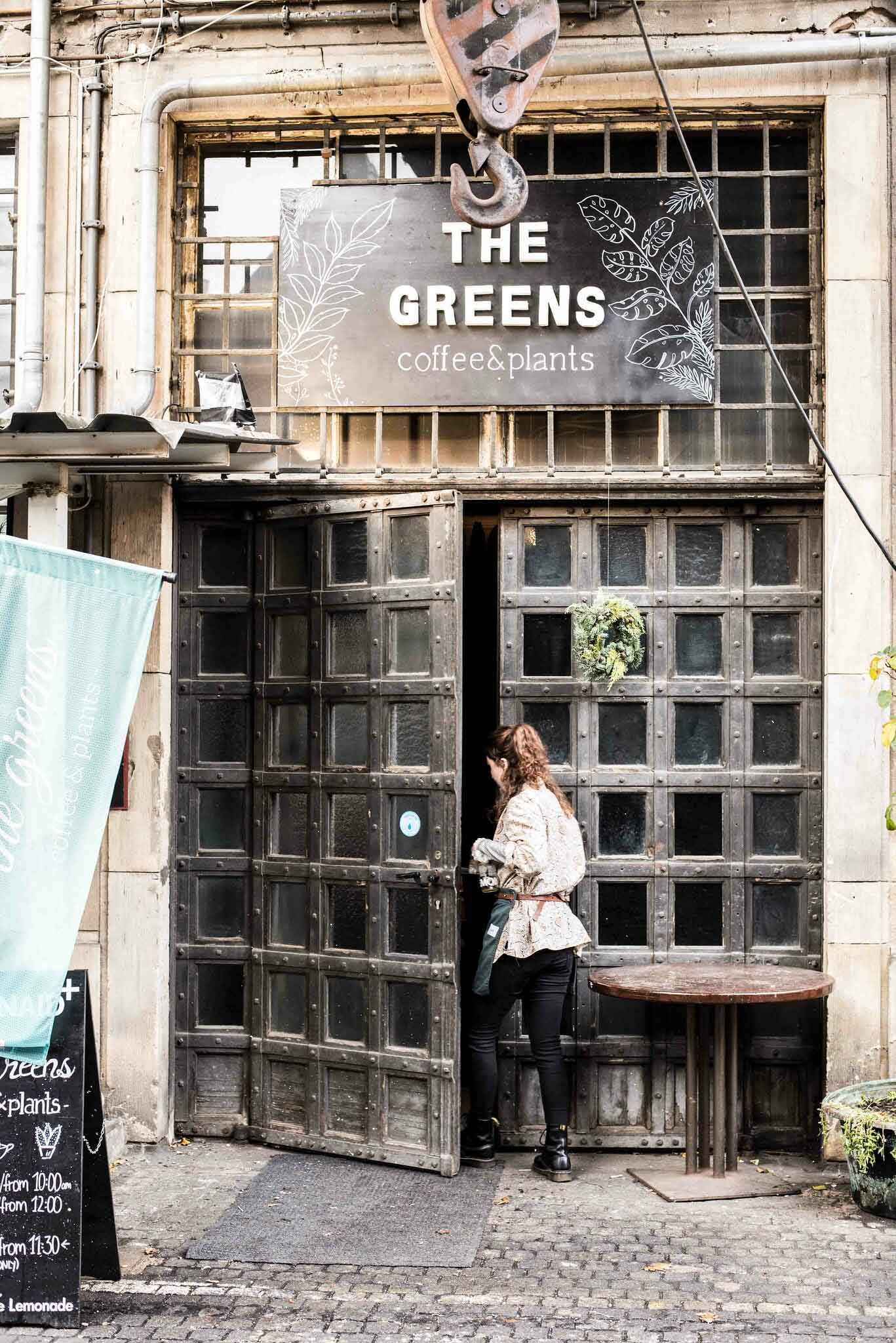 The Greens Café in Berlin