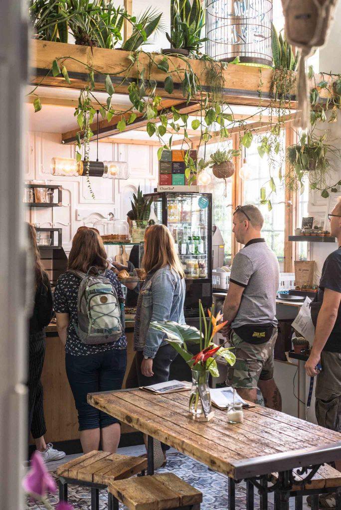 The Greens Café in Berlin-Mitte