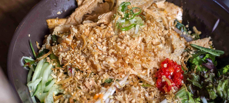 Rice Noodle Bowl im Saigon Deli