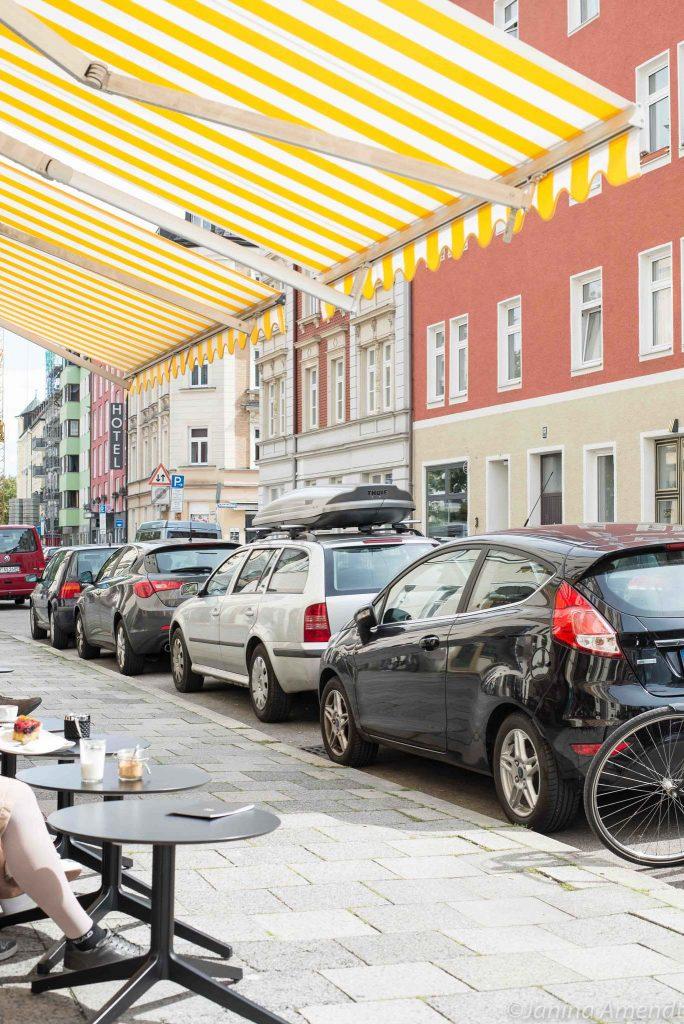 Café Emilo im Westend