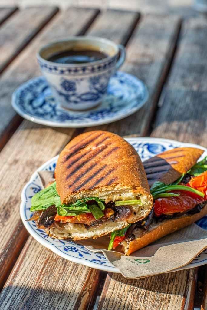 Veganes Sandwich vom La Maison in Kreuzberg