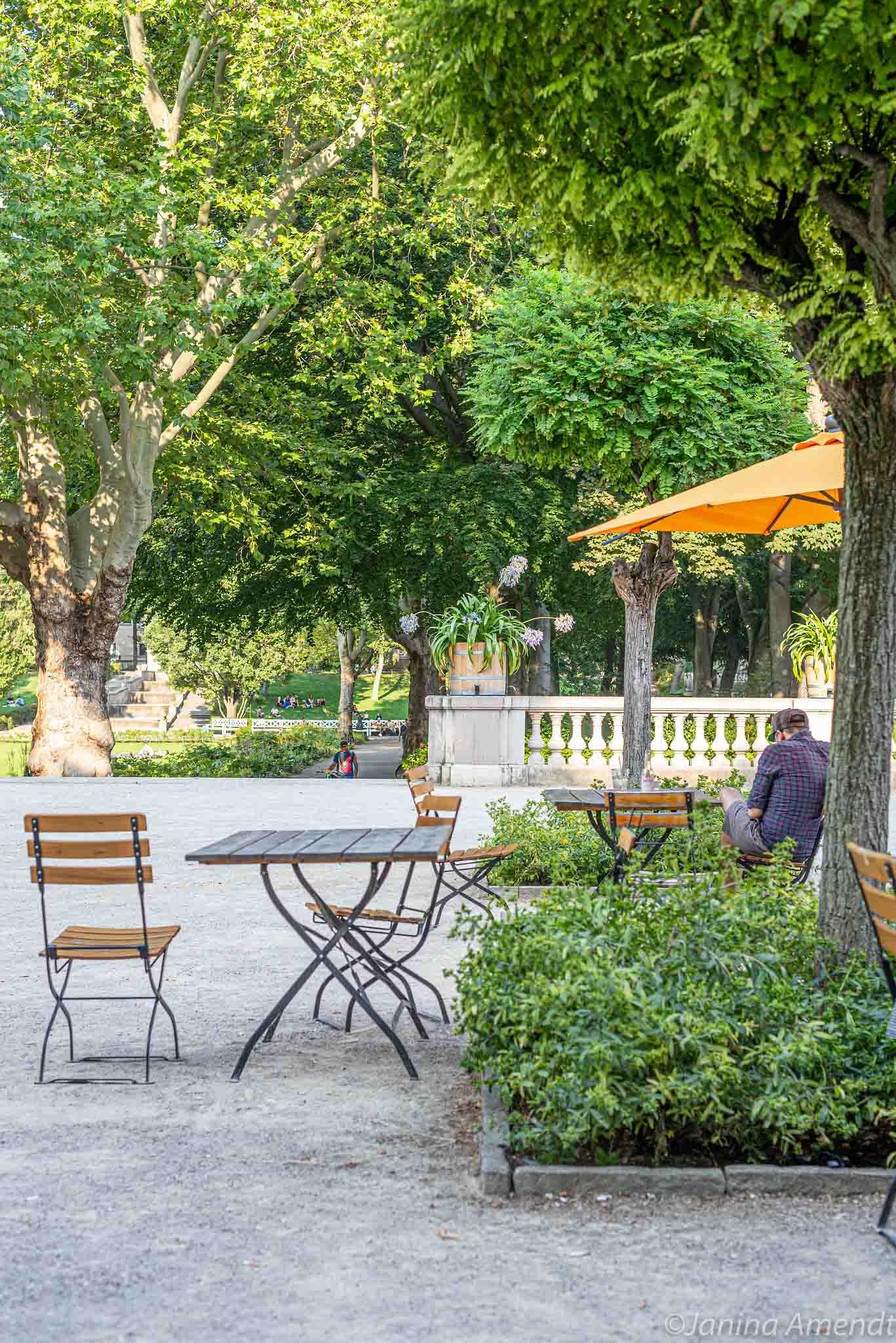 Zitronencafé im Körnerpark