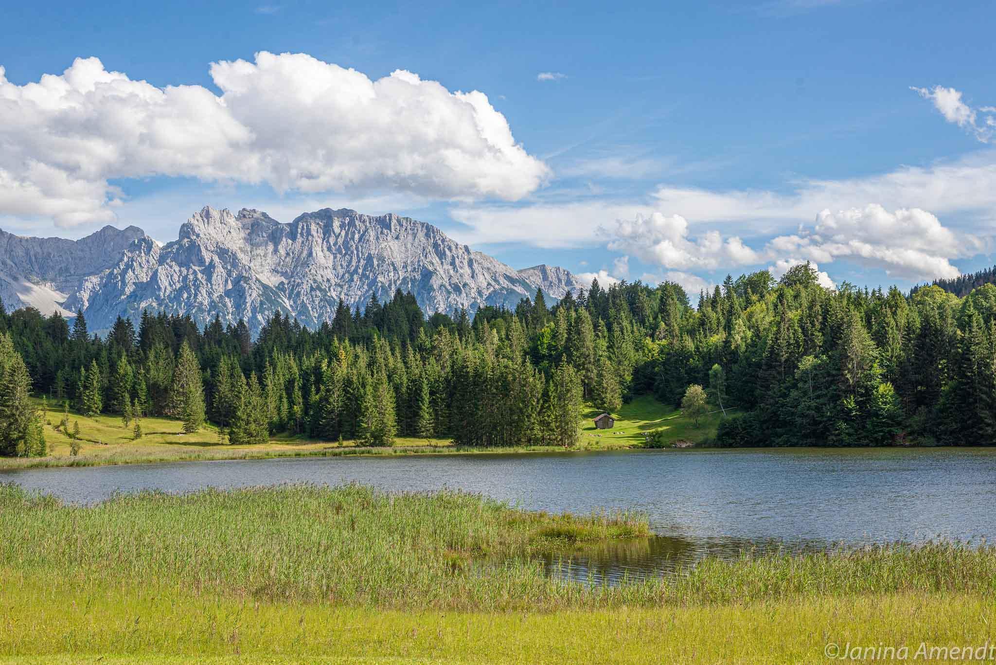 Der Geroldsee in Krün